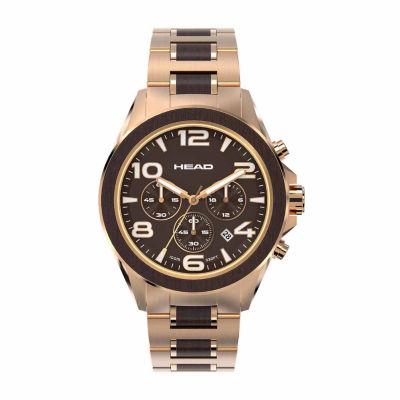 Head Heritage Mens Two Tone Bracelet Watch-He-001-03