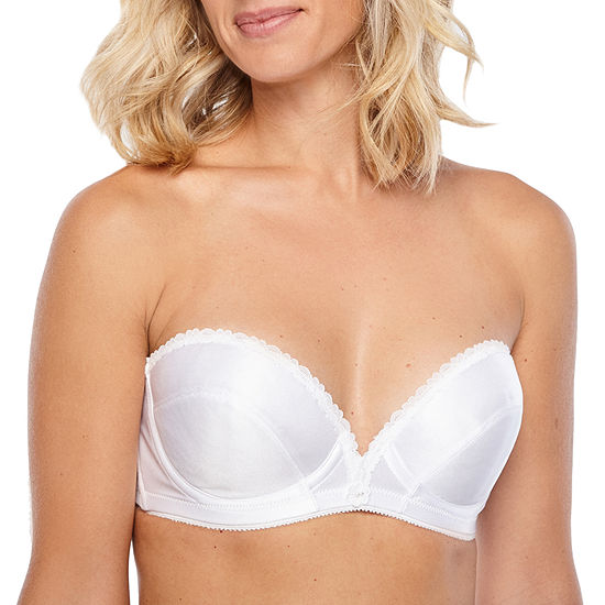 Carnival Satin Low Plunge Strapless Bra-103