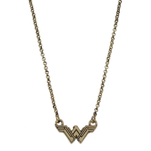 Womens Wonder Woman Pendant Necklace