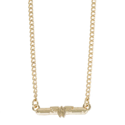 Womens Wonder Woman Pendant Necklace