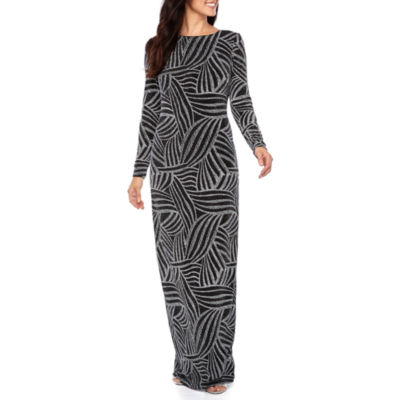 Melrose Long Sleeve Evening Gown