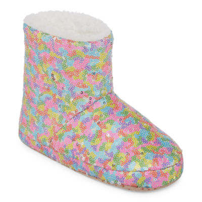 Total Girl Sleep Over Shop Bootie Slippers