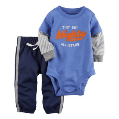 Carter's 2-pc. Pant Set Baby Boys