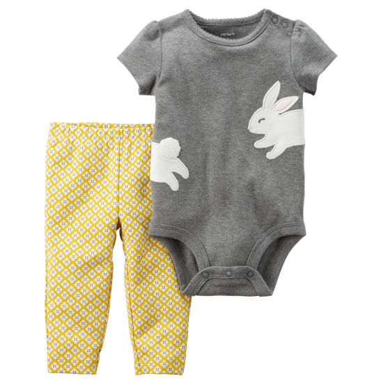 Carter's 2-pack Pant Set Baby Girls