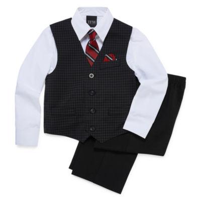 TFW 4pc. Vest Set Boys 4-10