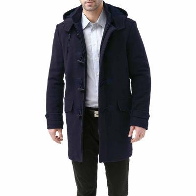 BGSD Men's Tyson Wool Blend Toggle Coat