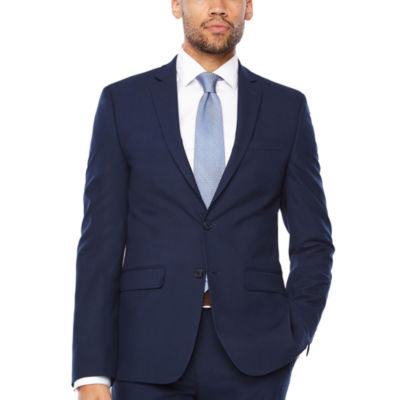 Van Heusen Plaid Slim Fit Stretch Suit Jacket
