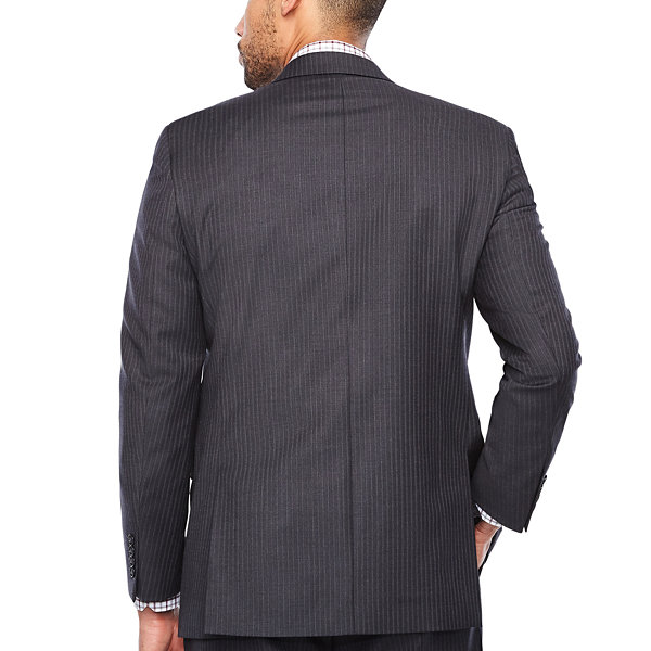 Stafford Stripe Classic Fit Stretch Suit Jacket