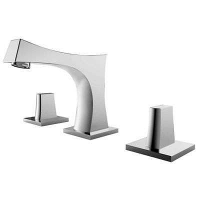American Imaginations 17.5-in. W Wall Mount WhiteVessel Set For 3H8-in. Center Faucet - Faucet Included
