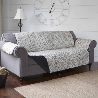 Journee Home Francoise Reversible Printed Sofa Protector