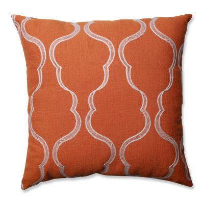 Pillow Perfect Cassie Tangerine Pillow