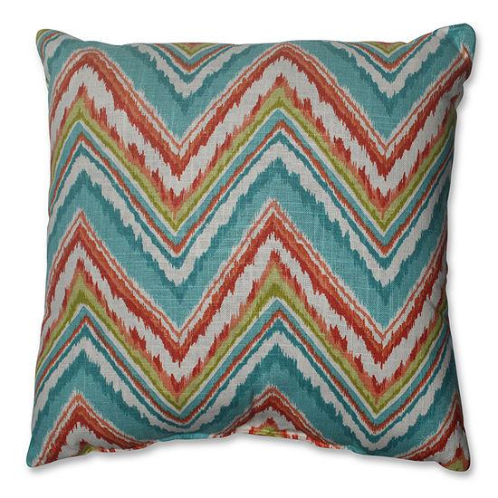 Pillow Perfect Chevron Cherade Pillow
