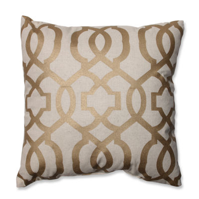 Pillow Perfect Geometric 16.5-inch Throw Pillow