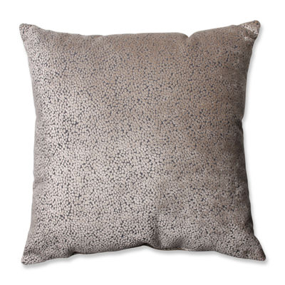 Pillow Perfect Tuscany Dots Flax Pillow