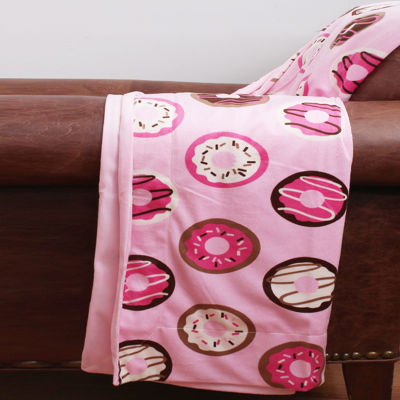 Thro by Marlo Lorezn Donna Donuts Throw