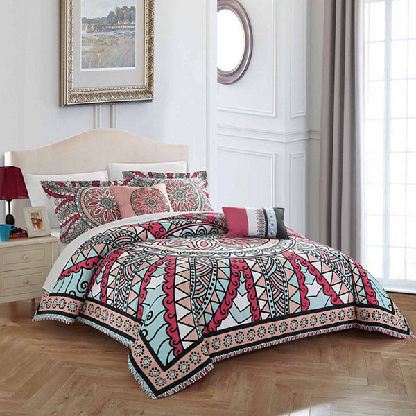 Chic Home Michal KComforter Set