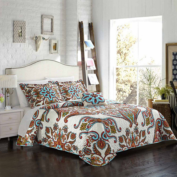Chic Home Montreuil Quilt Cover Set
