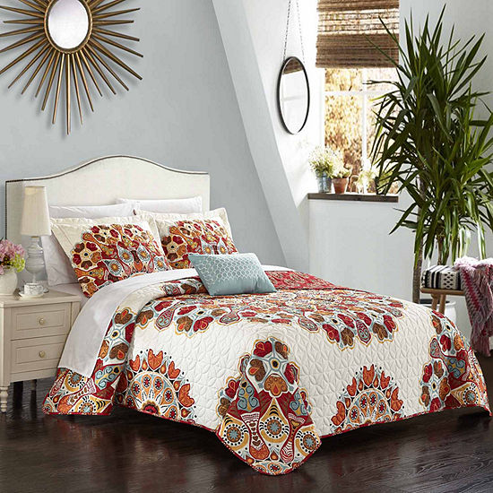 Chic Home Rouen 4pc Quilt Cover Set