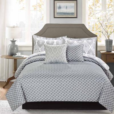 Journee Home Gunner Printed 5 pc Comforter Set