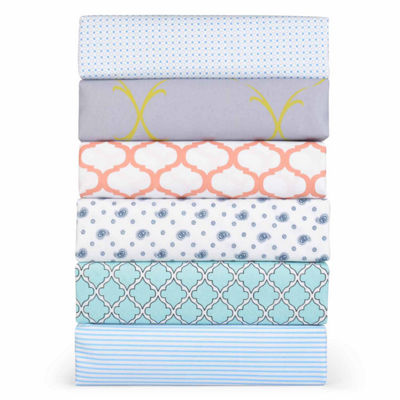 Journee Home 6-pc Microfiber Deep Pocket Sheet Set