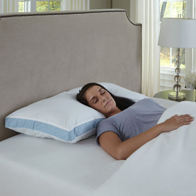 Quilted Sidewall Firm Pillow 2-Pack