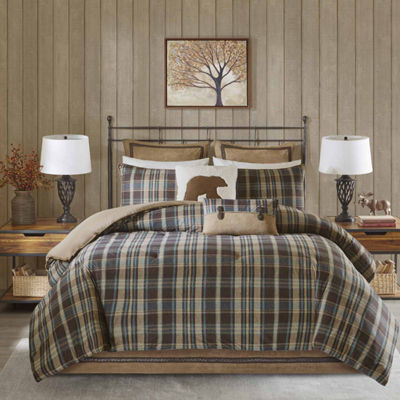 Woolrich Hadley Plaid Comforter Set Jcpenney