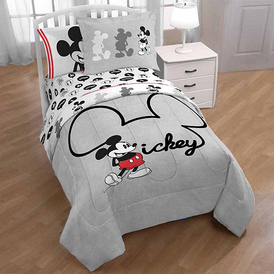 Disney Mickey Mouse Comforter Set & Accessories
