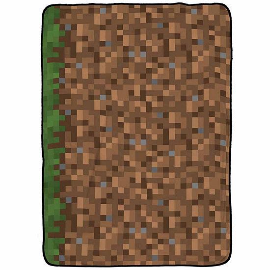 Minecraft Minecraft Fleece Lightweight Blanket
