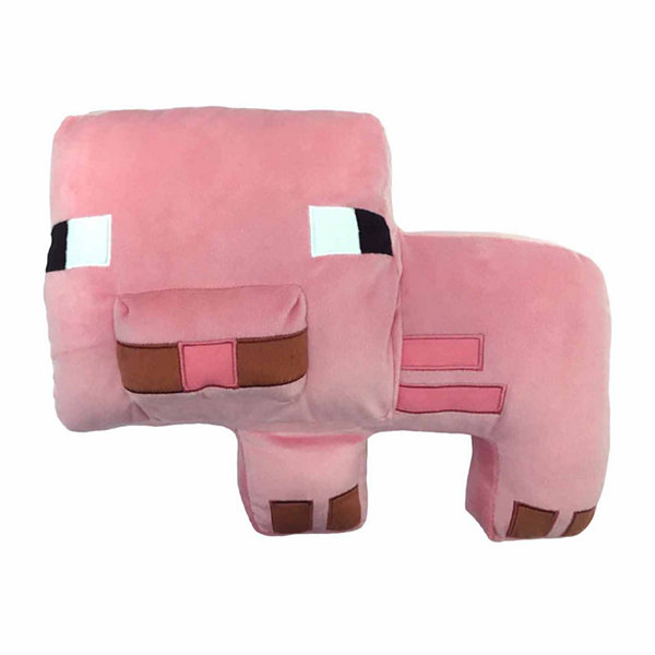Minecraft Animal Throw Pillow