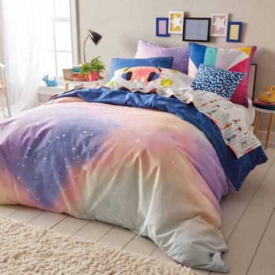 Scribble Twilight Comforter And Sham Set