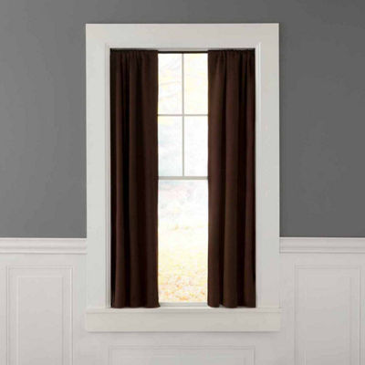 "Eclipse Room Darkening Tension Window Curtain Rod 5/8"" Diameter"