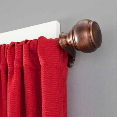 "Eclipse Roma Room Darkening Window Curtain Rod 3/4"" Diameter"