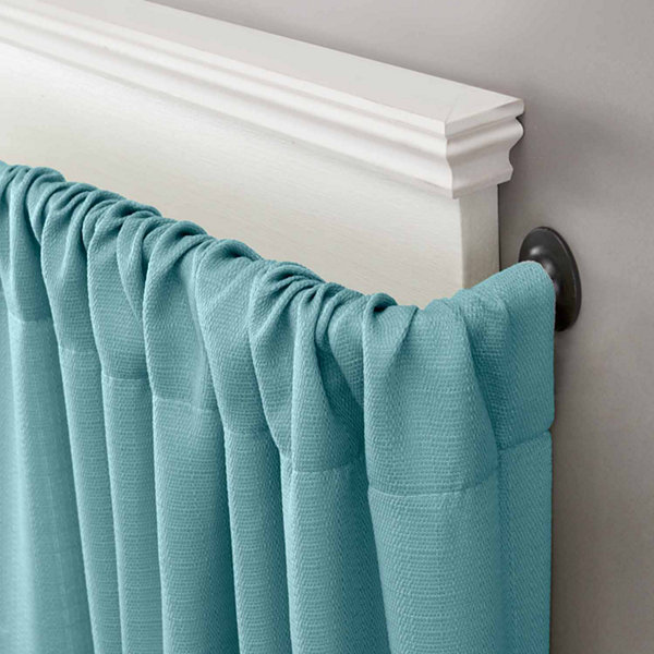 "Kenney Sun Zero Blackout Wrap Curtain Rod 5/8"" Diameter"