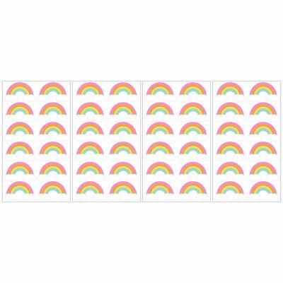 Brewster Wall Rainbow Minipops Wall Decal