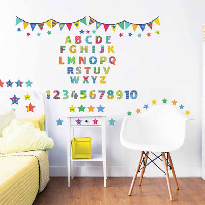 Brewster Wall Abc Learn With Me Wall Stickers Wall Decal
