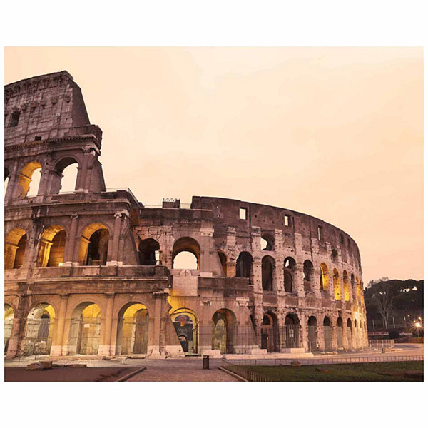 Brewster Wall Colosseum; Rome Wall Mural 6-pc. Wall Murals
