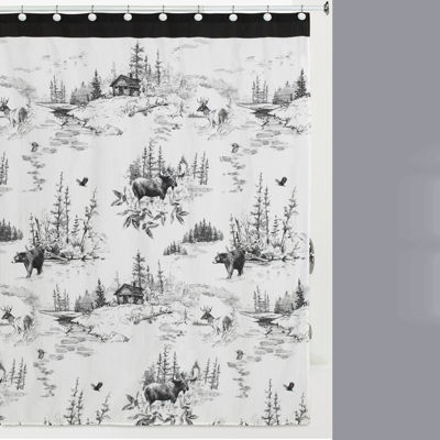 Creative Bath Sketches Shower Curtain