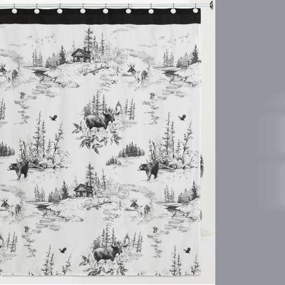 Creative Bath Sketches Shower Curtain