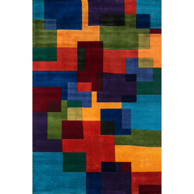 Momeni New Wave 49 Hand Tufted Rectangular Rugs