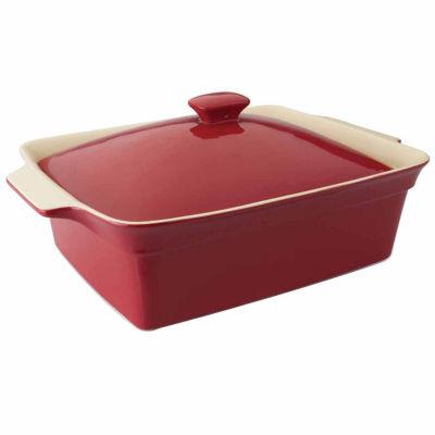 "Geminis Rectangular Covered Baking Dish 14.25"" x 10.25"" x 6"""