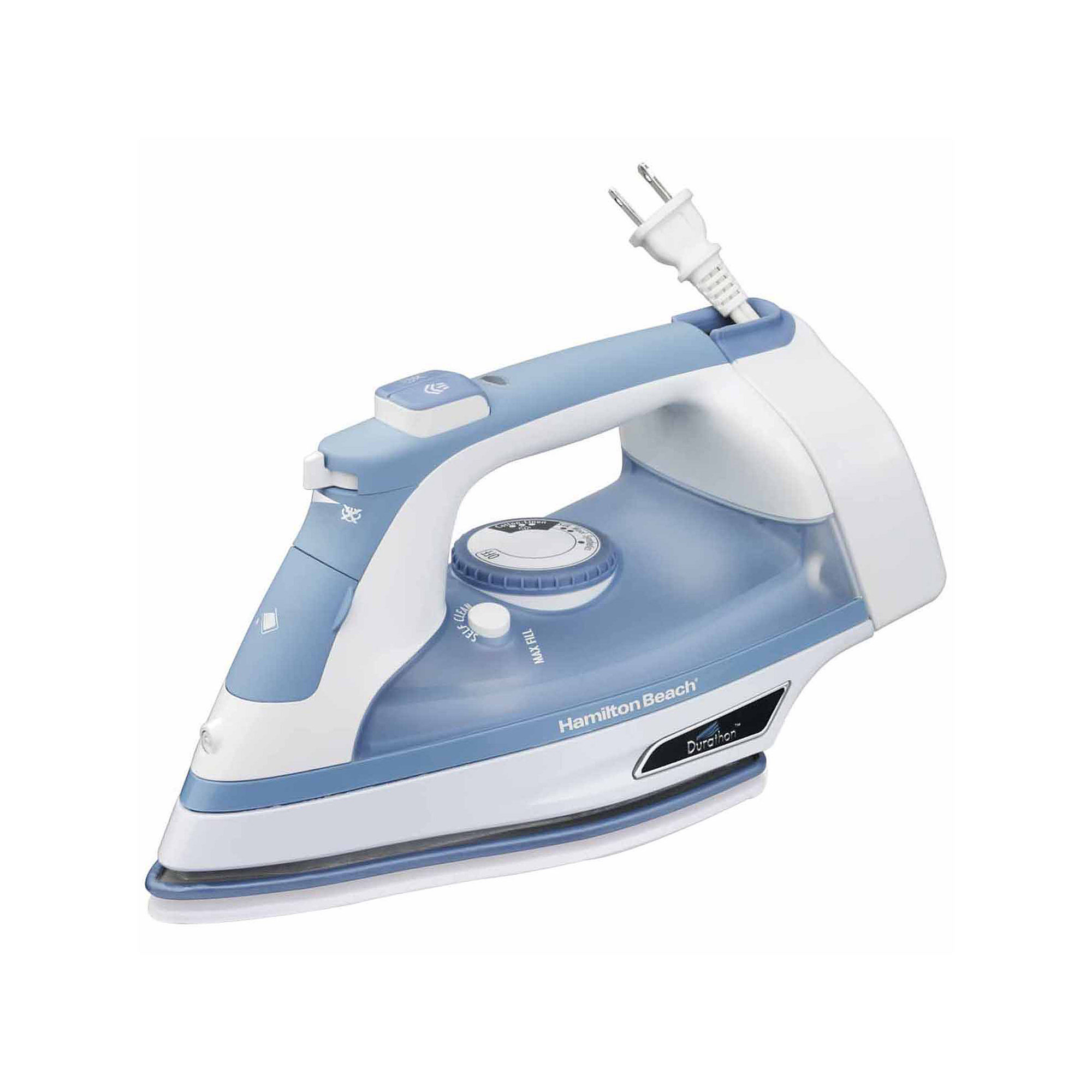 Hamilton Beach Durathon Auto-Off Nonstick Iron With Cord Management