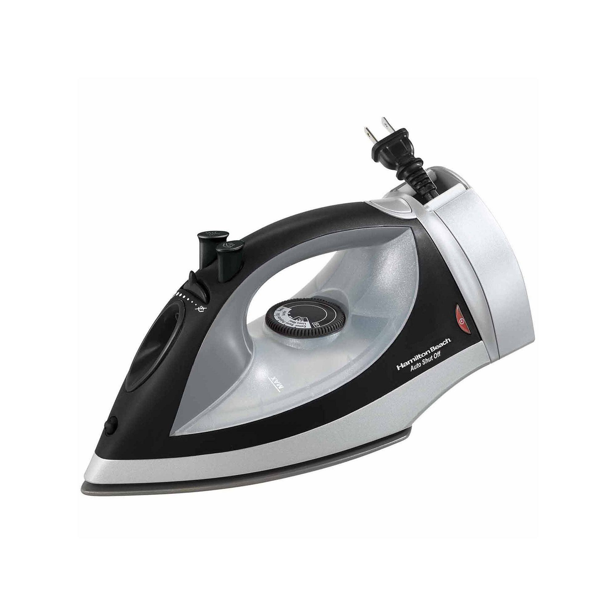 Hamilton Beach Auto-Off Iron with Retractable Cord