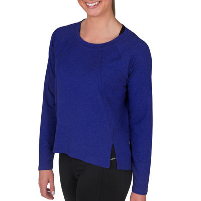 Jockey Long Sleeve Round Neck T-Shirt-Womens