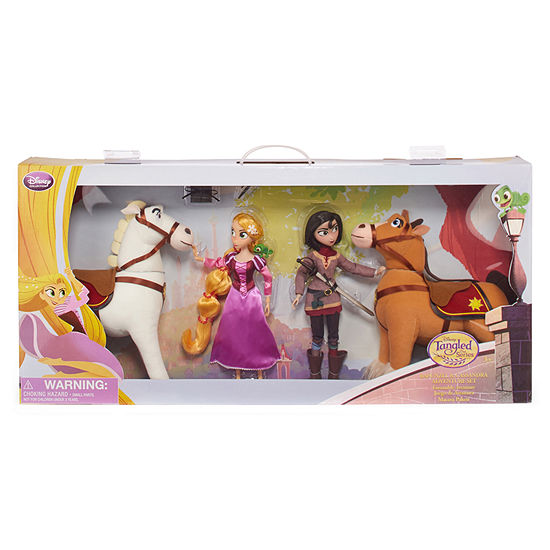 Disney Rapunzel and Cassandra Toy Playset