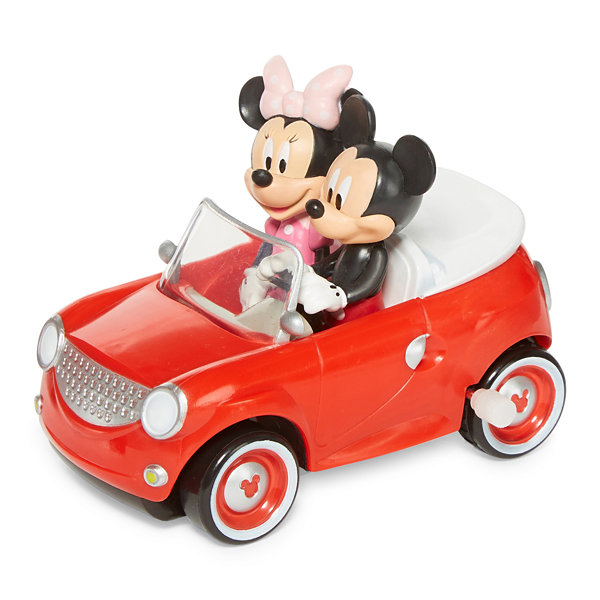 Disney Mickey and Minnie Windup Toy Car