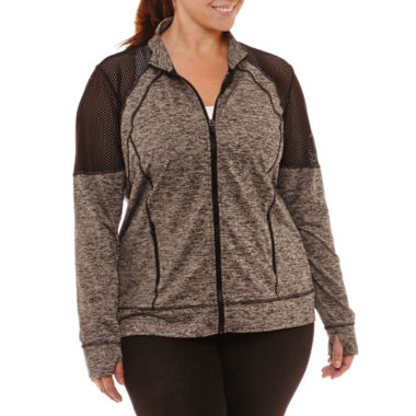 Xersion Midweight Softshell Jacket-Plus