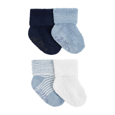 Carter's Baby Boys 4 Pair Crew Socks
