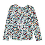 by&by girl Big Girls Crew Neck Long Sleeve T-Shirt