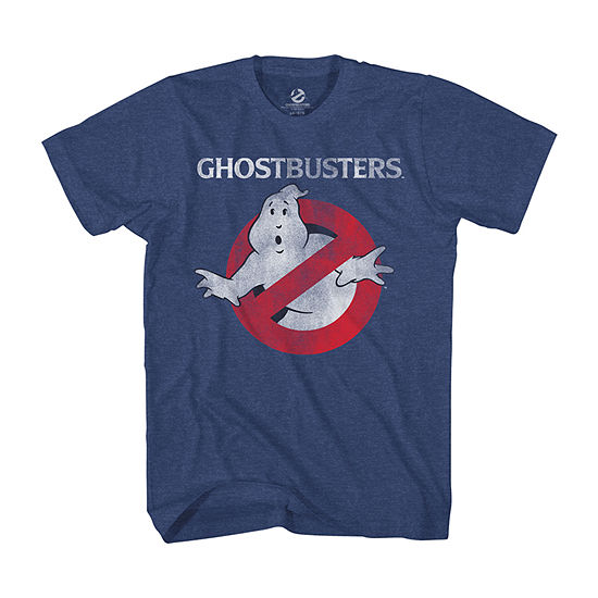 Big and Tall Mens Crew Neck Short Sleeve Ghostbusters Graphic T-Shirt