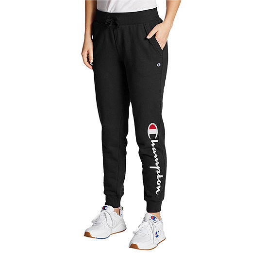 Champion Fleece Logo Womens Jogger Pant